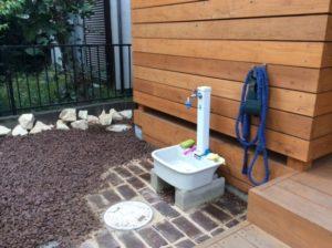 立水栓前施工後