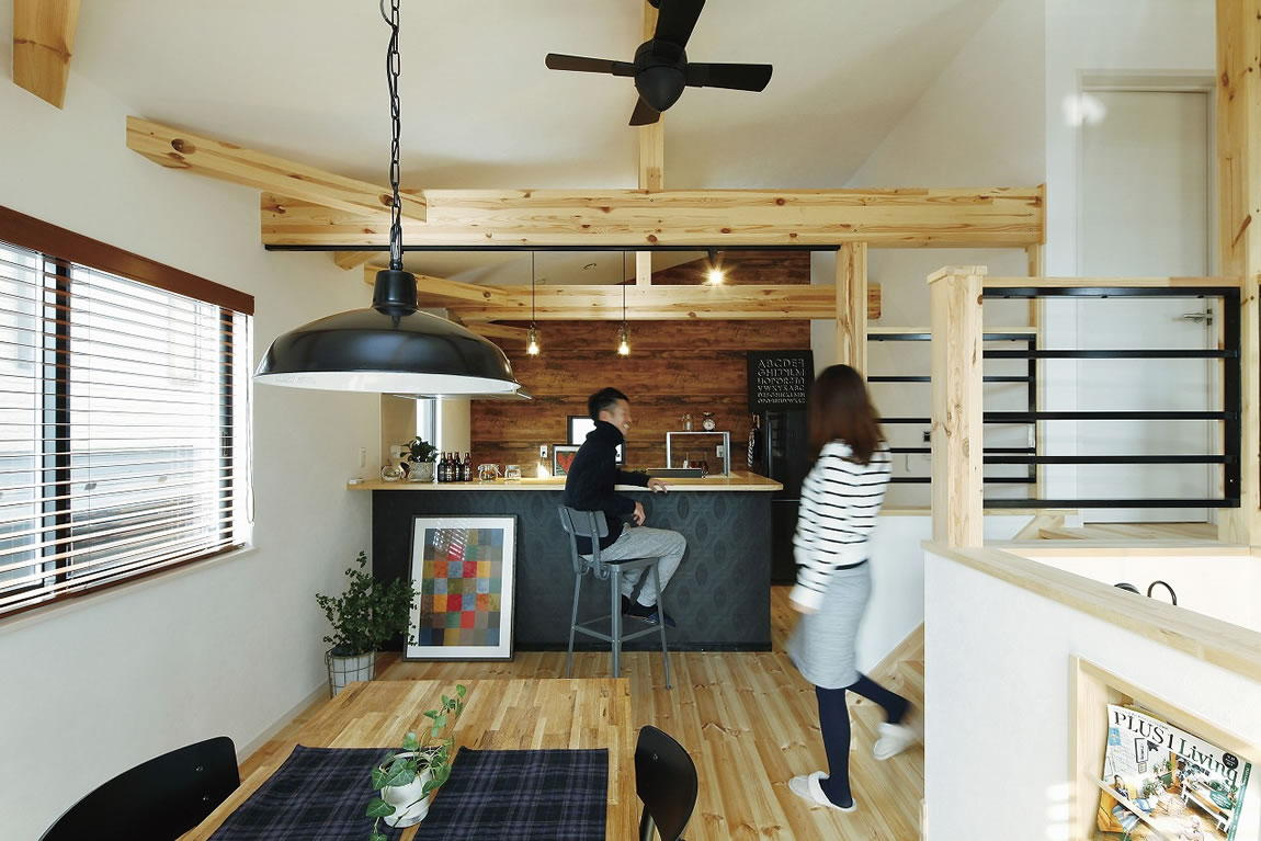 ヒロ建工口コミ:憧れのカフェのような我が家こだわりに応える対応に納得