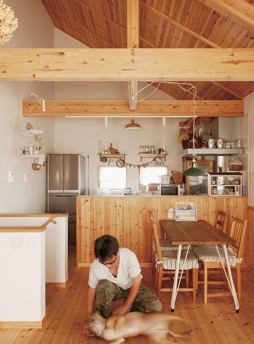 お客様の声 No.05:北欧家具・雑貨が似合うナチュラル空間に一目惚れ