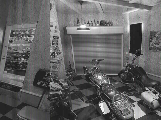 お客様の声 No.06:50年代アメリカンで統一バイク好きガレージハウス