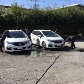 洗車して,GO・GO