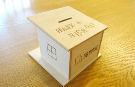 ヒロ建工スタッフとつくる貯金箱