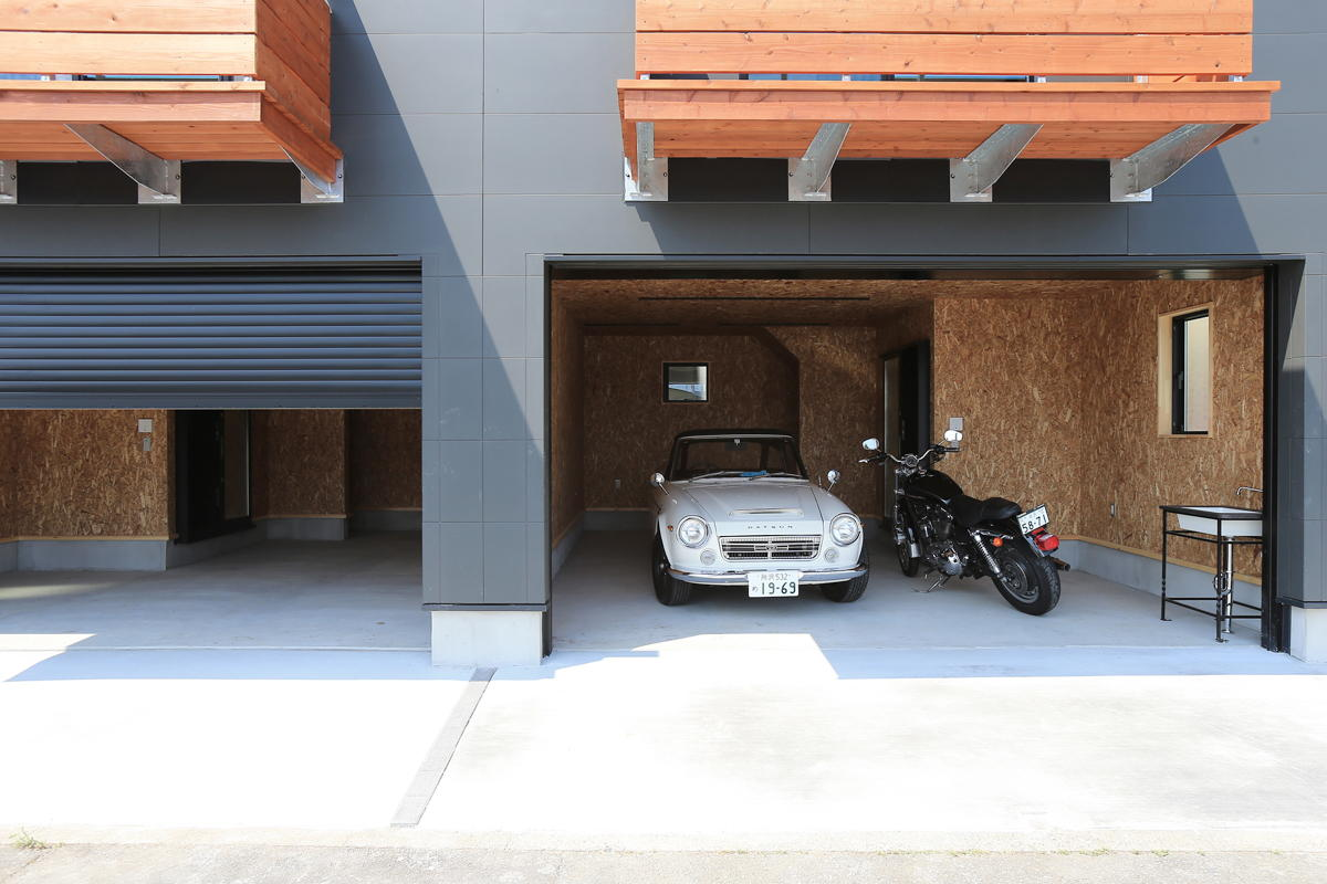 ガレージ賃貸ハウス